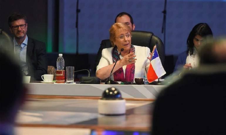 Cumbre del Pacífico: Alianza del Pacífico está notablemente fortalecida: Presidenta de Chile
