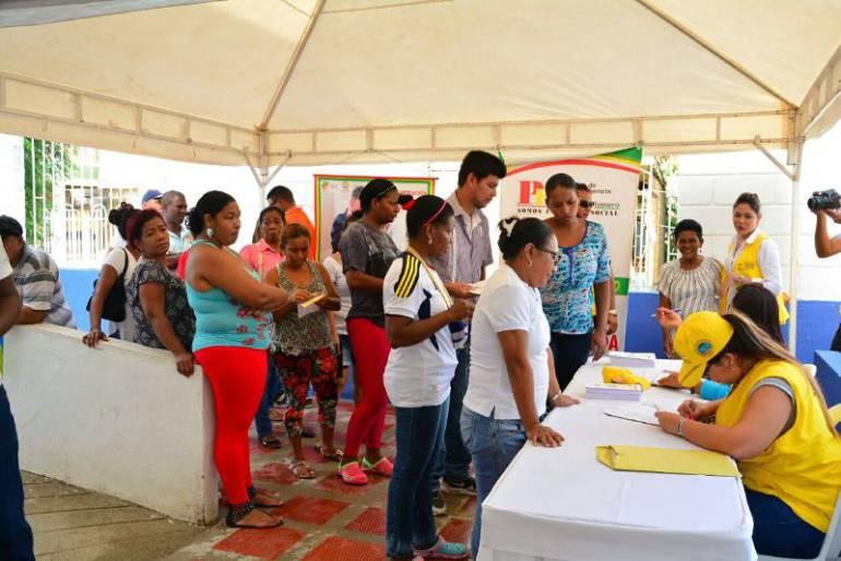 PES continúa con intervención social en barrios de Cartagena: PES continúa con intervención social en barrios de Cartagena