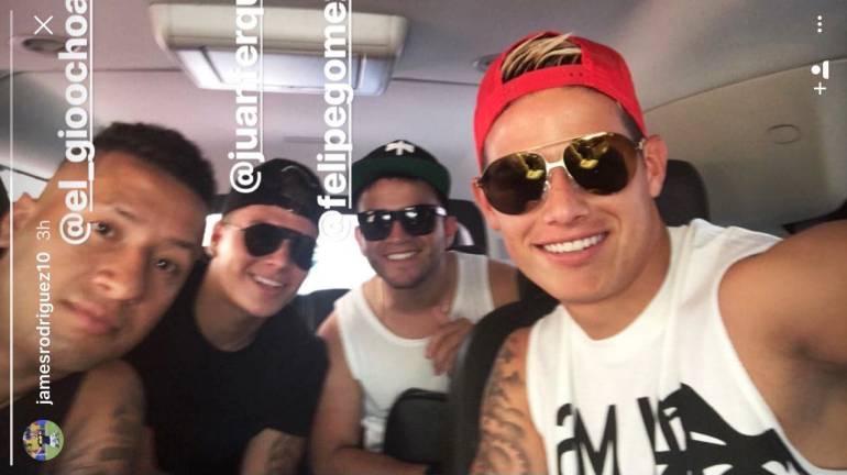 James Rodríguez, David Ospina y Juan Quintero están de vacaciones en Cartagena: James Rodríguez, David Ospina y Juan Quintero están de vacaciones en Cartagena