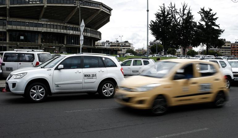 Uber en Bogotá: En Bogotá se inmovilizan 15 vehículos diarios por trabajar con plataformas como Uber