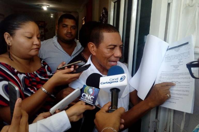 Renunció abogado que llevaba el caso del inspector de Blas de Lezo