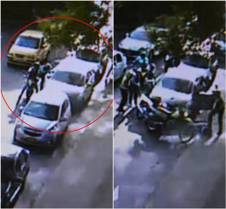 Policía logra frustrar fleteo en Laureles