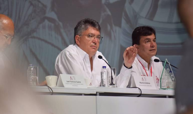 Cortesía/ Federación Nacional de Cafeteros. Ministro de Hacienda, Mauricio Cárdenas.