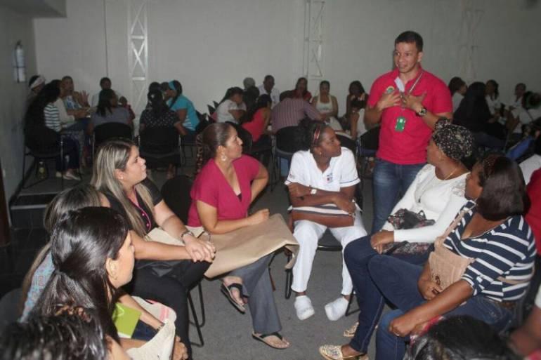 DADIS capacitó a funcionarios de la ESE Cartagena en asesoría para pruebas de VIH: DADIS capacitó a funcionarios de la ESE Cartagena en asesoría para pruebas de VIH