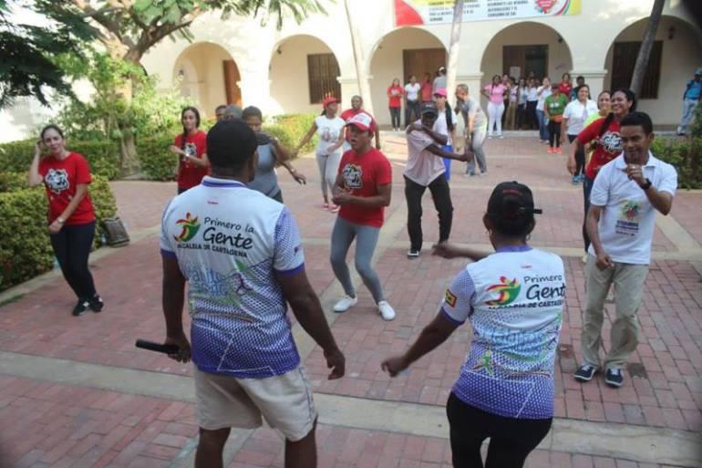 Realizarán en Cartagena jornadas de recreación para impulsar mejores estilos de vida