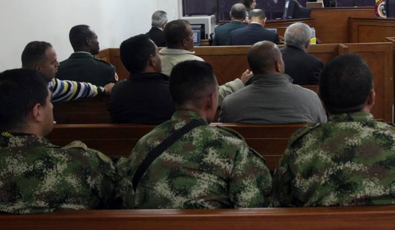 Los militares pretendían suspender la imputación de cargos y ser juzgados meses después por la Justicia Especial para la Paz.