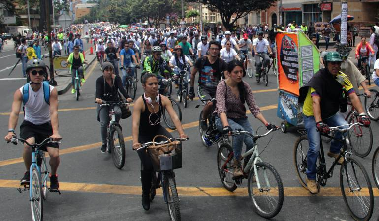Ciclovías en Bogotá