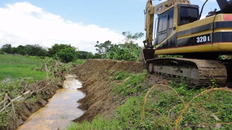 Se construyeron 15 kilómetros de jarillon en Margarita sur Bolívar: Se construyeron 15 kilómetros de jarillon en Margarita sur Bolívar