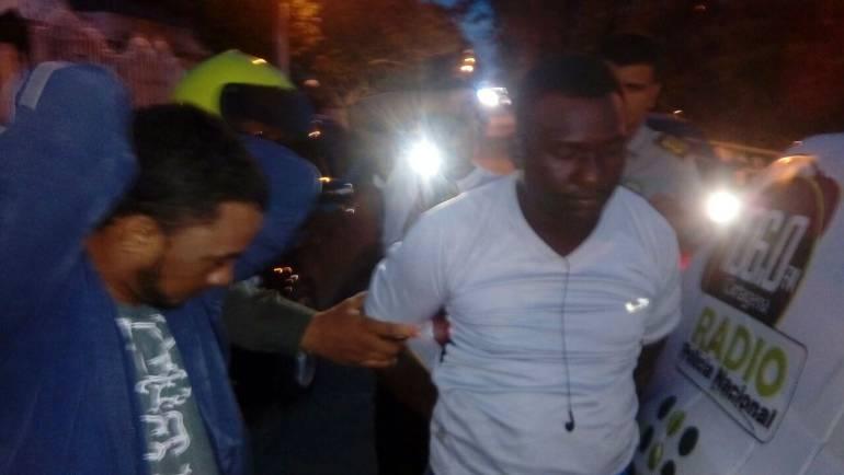En persecución, policía de Cartagena captura dos presuntos delincuentes: En persecución, policía de Cartagena captura dos presuntos delincuentes