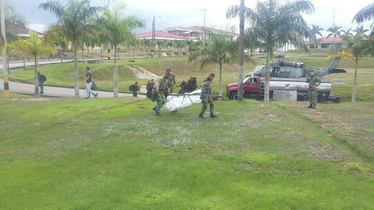 Un soldado muerto por enfrentamientos con el ELN en el bajo Cauca de Antioquia