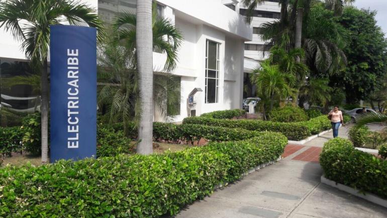 Sede de Electricaribe en Barranquilla