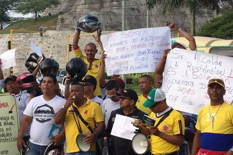 Alcalde de Cartagena aclara que nuevo decreto de motos no cobijará a todos los barrios: Alcalde de Cartagena aclara que nuevo decreto de motos no cobijará a todos los barrios