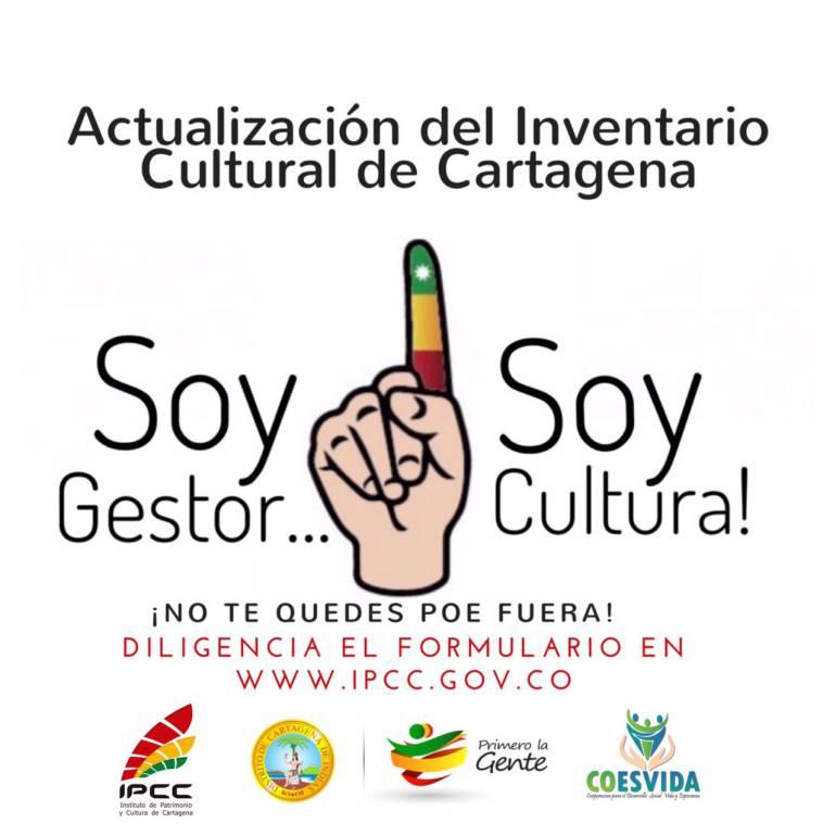 Alcaldía de Cartagena prepara inventario a gestores y organizaciones culturales: Alcaldía de Cartagena prepara inventario a gestores y organizaciones culturales