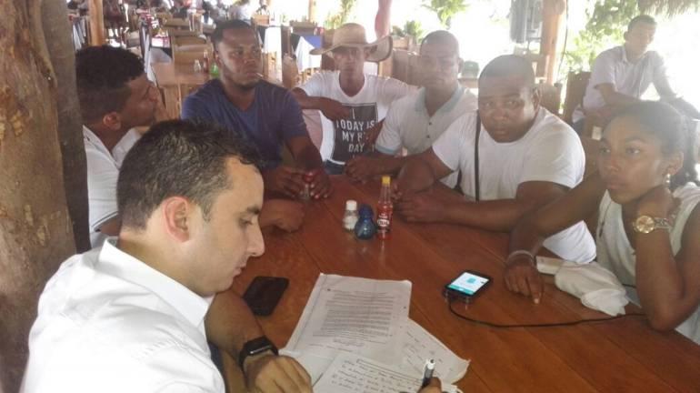 Alcaldía de Cartagena se comprometió con alcantarillado de Bayunca: Alcaldía de Cartagena se comprometió con alcantarillado de Bayunca