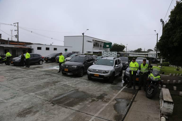 Estos son los vehículos que estaban reportados como robados en Medellín y que aparecieron en Chinchiná.