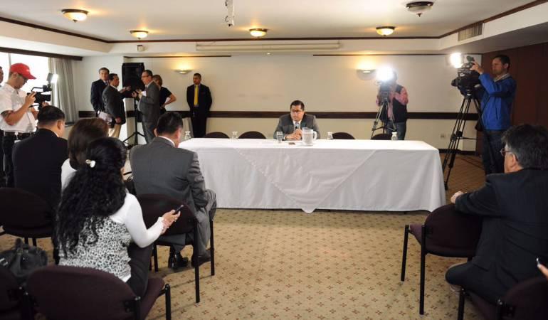 Manizales; Caldas; Avianca; foro;La Nubia: Alcalde de Manizales se quedó esperando a directivos de Avianca