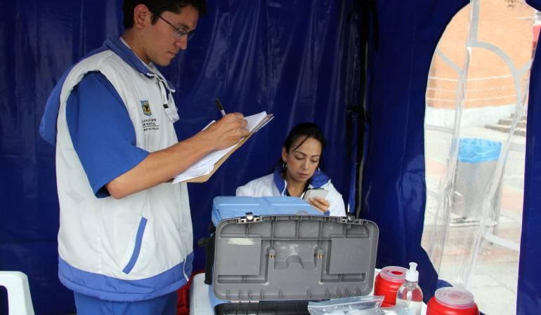 Cruz Roja lanza campaña de vacunación para viajeros: La Cruz Roja seccional Bogotá lanza campaña de vacunación a viajeros
