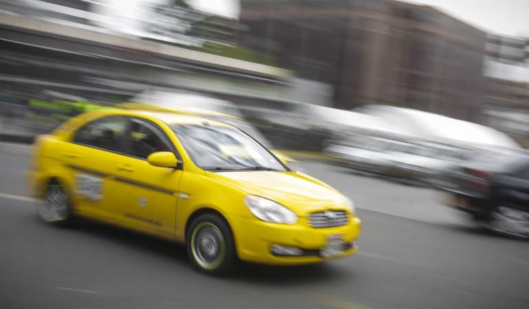 Desaparecerán gradualmente los taxímetros en Bogotá