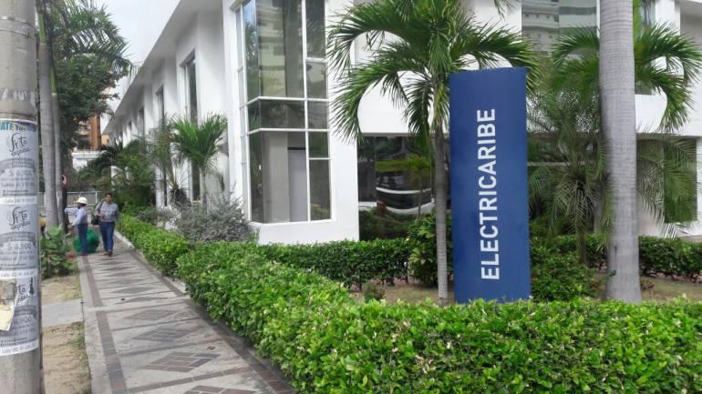 Oficinas de Electricaribe en Barranquilla.