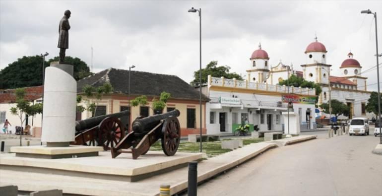 Plaza de Soledad, departamento del Atlántico.