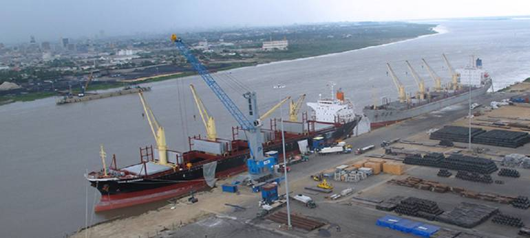 Puerto de Barranquilla.