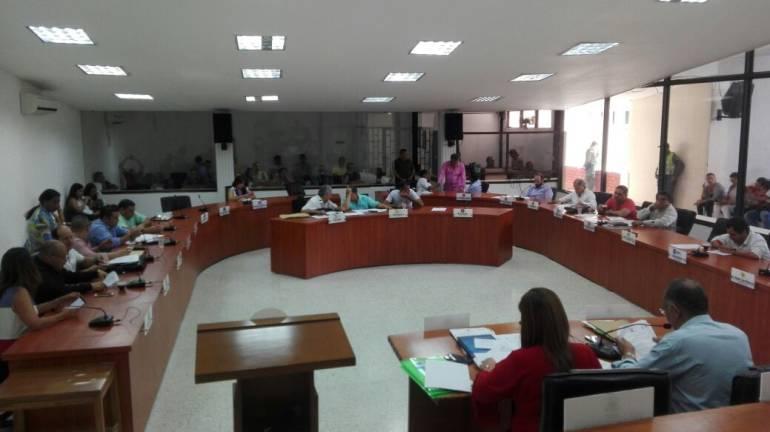 Plenaria concejo de Barranquilla.