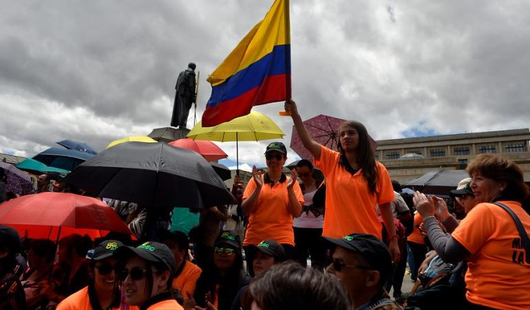Protestas de profesores en Bogotá: Educadores anuncian nuevas movilizaciones en Bogotá