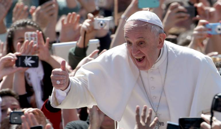 Canción oficial de la visita del papa Francisco a Colombia