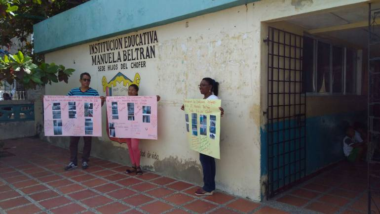 581 niños de un colegio en Cartagena en riesgo por avanzado deterioro de la sede educativa: 581 niños de un colegio en Cartagena en riesgo por avanzado deterioro de la sede educativa