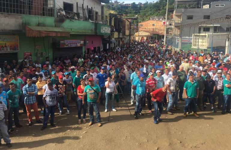 SIGUE, PARO, MINERO, SEGOVIA, REMEDIOS, ANTIOQUIA: Sigue el paro minero en Segovia y Remedios, nordeste de Antioquia