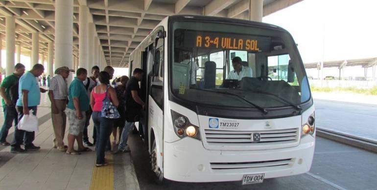 Sistema Masivo Transmetro, Barranquilla.