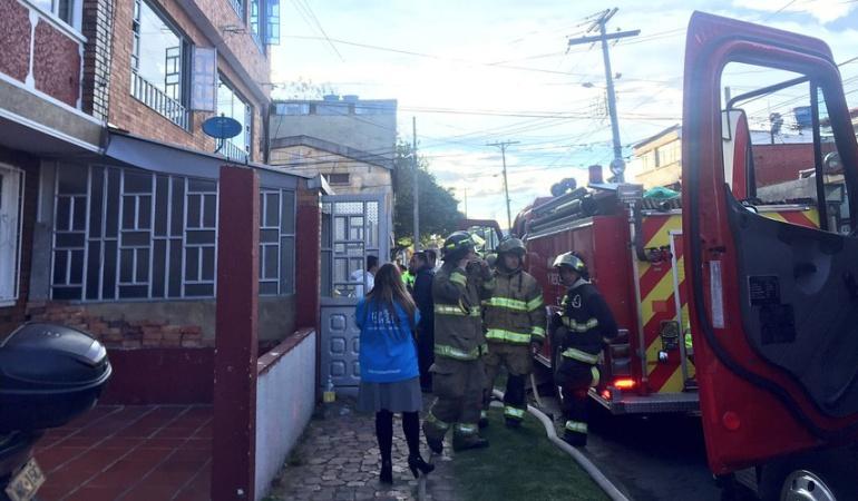 Incendio en Bogotá: Tres personas fallecidas por incendio en Bogotá
