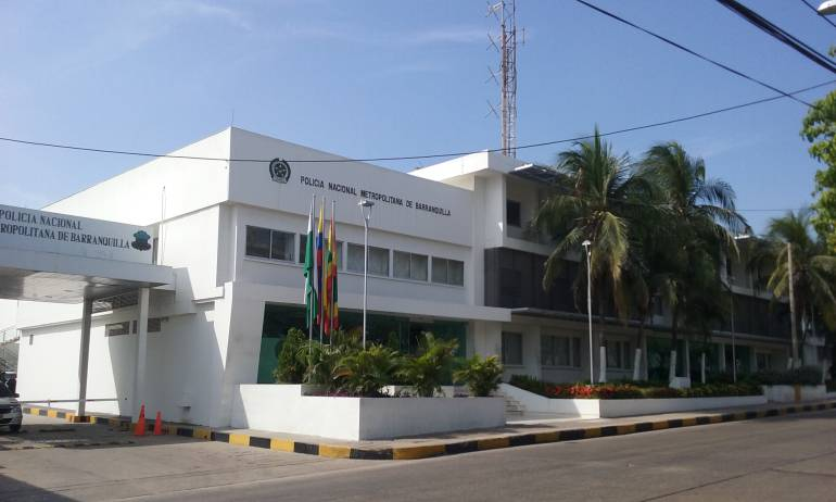 Instalaciones Comando Central de la Policía, Barranquilla.