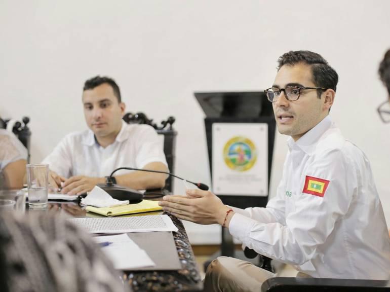 Pedimos celeridad a la justicia en el caso de Manolo Duque: alcalde (e) de Cartagena