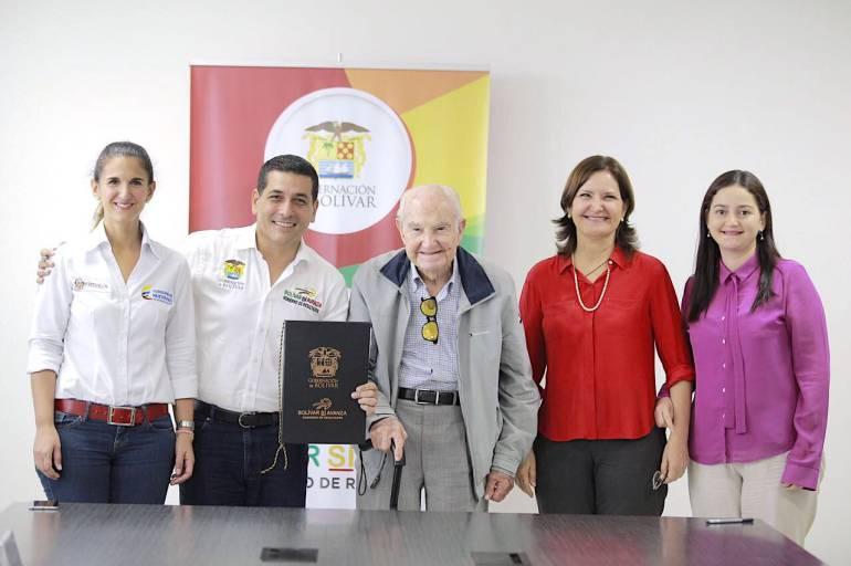 Diez colegios de Bolívar fortalcerán el talento humano de sus estudiantes