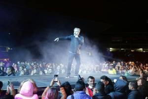 concierto Ricardo Montaner Tunja Venezuela venezolano: El concierto de Ricardo Montaner en Tunja inspiró homenaje a Venezuela