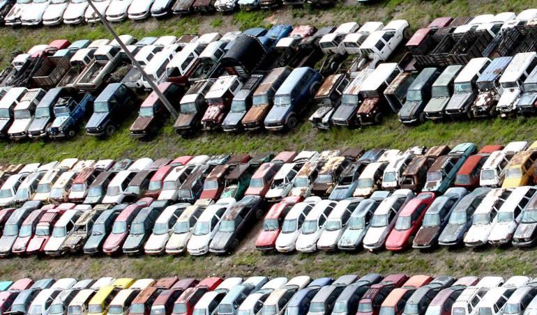 Situación de los patios en Bogotá: Más de 26.000 vehículos permanecen en los patios de movilidad en Bogotá