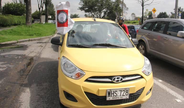 Taximetros: Empresarios de taxímetros anuncian que se sumarán a paro de taxistas en Bogotá