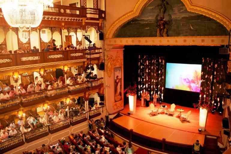 """Este martes en Cartagena de tertulia, """"La historia del Teatro Adolfo Mejía"""": Este martes en Cartagena de tertulia, """"La historia del Teatro Adolfo Mejía"""""""