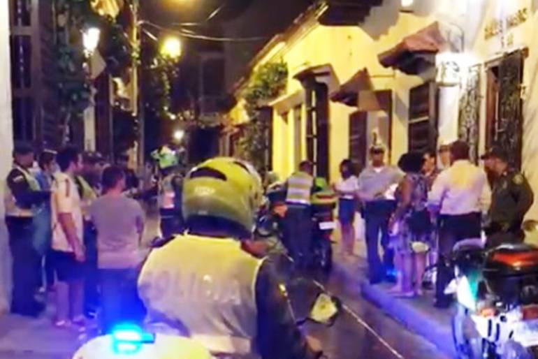 Denuncian aplicación errónea del código de policía para cierre de restaurante en Cartagena: Denuncian aplicación errónea del código de policía para cierre de restaurante en Cartagena