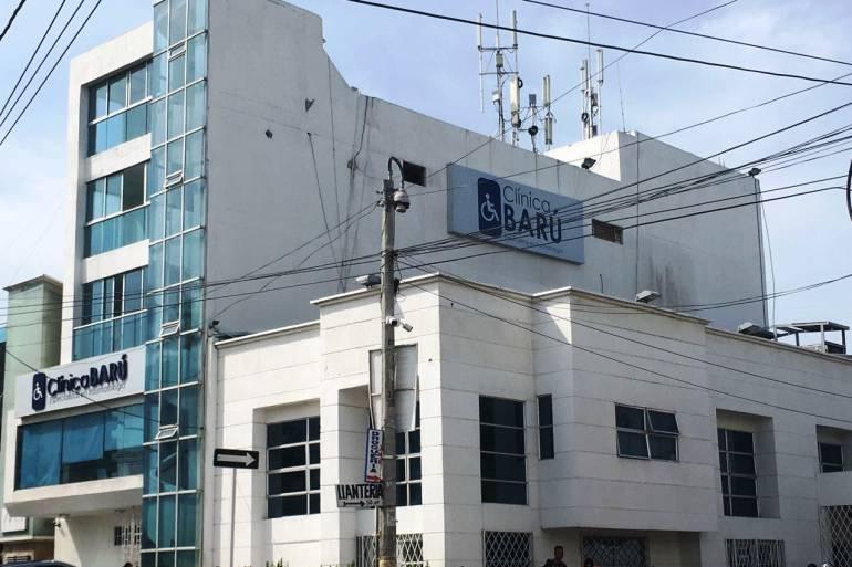 Muere mujer en clínica de Cartagena al parecer por mal procedimiento médico: Muere mujer en clínica de Cartagena al parecer por mal procedimiento médico