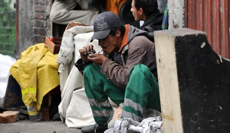 bazuco centros de consumo: Distrito analiza ampliar los tratamientos médicos a pacientes adictos al bazuco