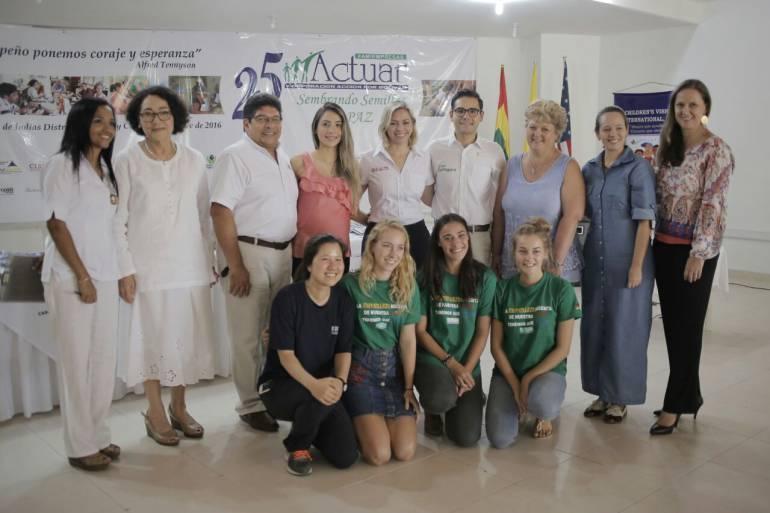 Cuatro fundaciones de Cartagena reciben ayuda internacional: Cuatro fundaciones de Cartagena reciben ayuda internacional