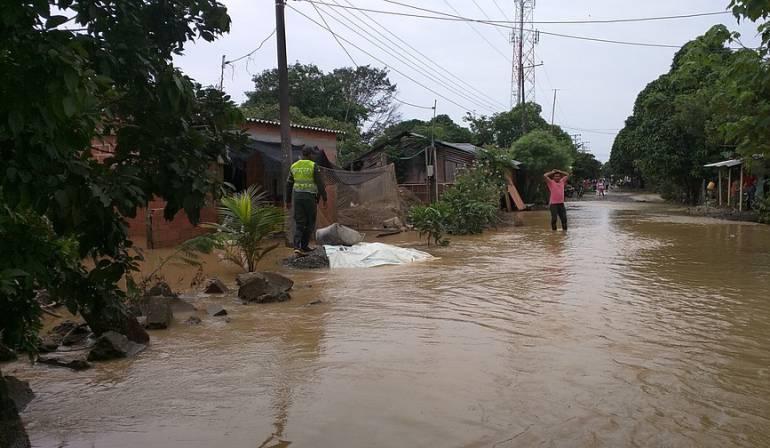 Nueves municipios del Chocó afectados por las fuertes lluvias