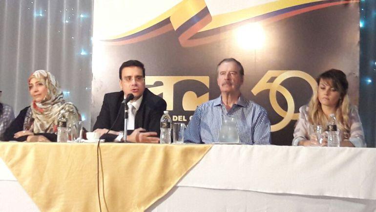 Vicente Fox respaldó protección de Colombia a la exfiscal Luisa Ortega