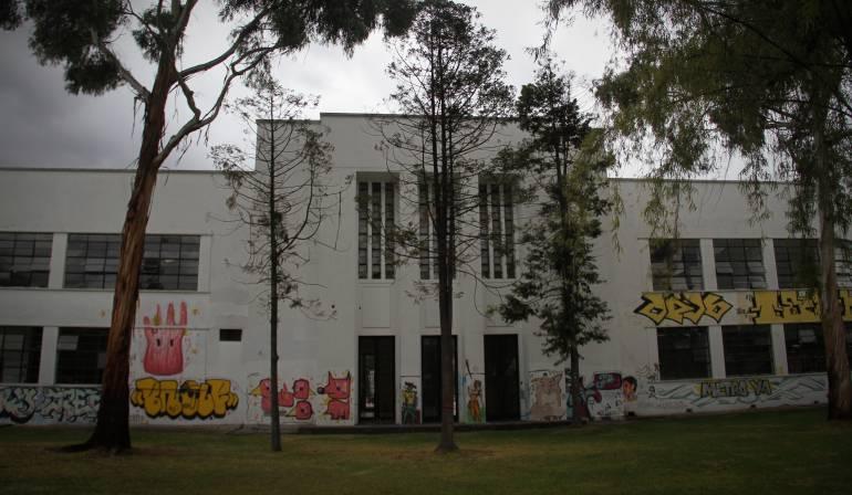 Edificio de Bellas Artes de la Universidad Nacional.