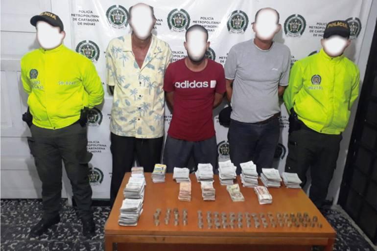 """Fiscalía de Cartagena imputó delitos a la banda """"Los Blanqueados"""" por chance ilegal: Fiscalía de Cartagena imputó delitos a la banda """"Los Blanqueados"""" por chance ilegal"""
