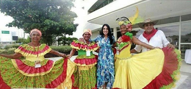 Realizan segundo encuentro departamental del adulto mayor en Cartagena: Realizan segundo encuentro departamental del adulto mayor en Cartagena