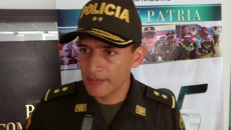 General Mariano Botero, comandante Policía Metropolitana Barranquilla.