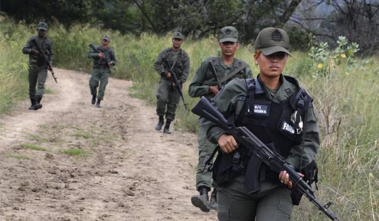 Seis muertos durante ejercicio de defensa militar venezolano
